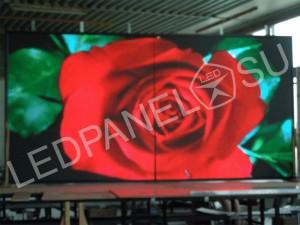Светодиодный уличный видеоэкран P6 3 x 2 м