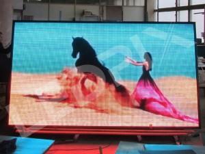 Светодиодный уличный видеоэкран P5 5 x 3 м