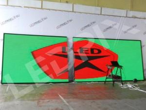 Светодиодный уличный видеоэкран P4 3 x 2 м