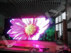 Светодиодный уличный видеоэкран P8 3 x 3 м