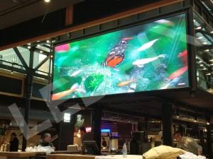 Светодиодный экран для уличной рекламы
