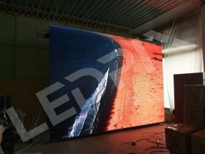 Модульный led экран для магазина