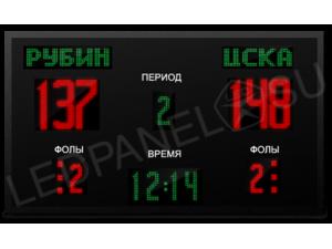 Универсальное спортивное табло  № 9