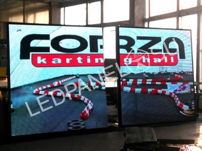 Видео светодиодный экран 2 на 4 м Р10 в Москве